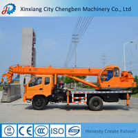 5% Off! Latest 10 Tons Knuckle Boom Crane with Truck Certification