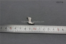 20mm metal boot pendant alloy boot charm