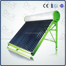 OEM ODM Custom Made Hybrid Sun Power Compact Pressure Solar Hot Water Heater