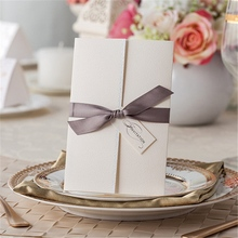 best sell fashion classical transparent diy invitation card