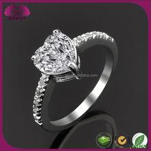 Heart-shaped Diamond Ring 3 Carat Diamond Ring Price