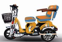 Electric three wheels tricycle scooter for passengers for the elderly