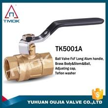 TMOK brass ball valve china supplier,made in chian alibaba china