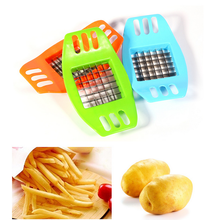 Hot Selling Stainless French Fry Cutter Potato Vegetable Slicer On Amzon