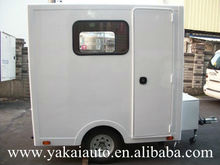 Mobile prefabricated rooms for camp