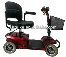 """9"""" Four Wheel Handicapped Travel Electric Scooter /Mobility Scooter (2*12V20AH)"""