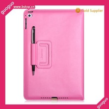 2015 Genuine soft leather case cover for Ipad air 2