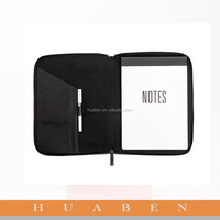 Huaben 2015 a4 size pu leather notepad