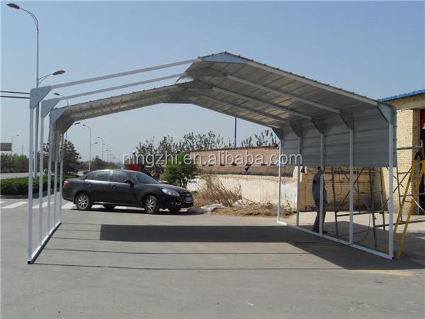 M tallique de stockage abri voiture vente voiture hangar for Garage tunnel metallique