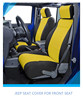 jeep seat cover customized for front seat made of neoprene
