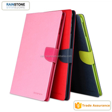 Magnetic PU stand flip cover for iPad mini 2, smart tablet case, leather case