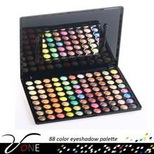 88 color waterproof makeup kit fancy eye shadow display case