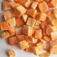 frozen dried carrot dice Fast Food Dried Carrot