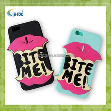 Wholesale new design silicone mobile phone cover for iphone 5/6 /6plus