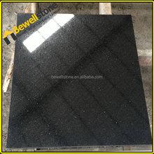 Prefabricated black galaxy granite, cut to size sparke galaxy black granite