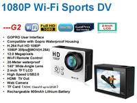 2 inch Full HD sj6000 wifi action camera 12Mega Piexls waterproof sport DV camera, full hd 1080p sports camera