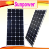 high efficiency sunpower solar panel 100w factory prices