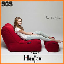 wholesale custom printed recliner folding bean bag chair