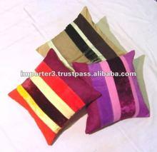 Cotton Denim Cushion Cover / Cotton Canvas Printed Cushion Cover / Organic Cotton Cushion Cover