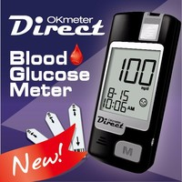 OKmeter Direct (Eject) High Precision Glucose Monitor / Blood Glucose Meter