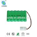 7.2v pilas y baterías de ni-mh aa 700 mah