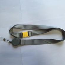 nylon lanyard with pull reel