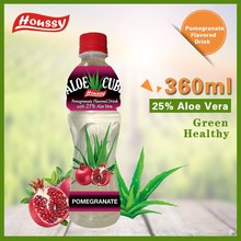 360ML Houssy [aloe vera drink] Pomegranate Flavored Aloe Cube