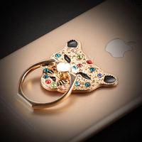 Luxury Tiger Ring Holder Hook Universal Mobile Phone 3D Metal Ring Stand Holder Mount Holder Finger Grip Stand for iPhone