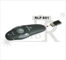 Remote control laser pointer wireless presenter page up an down blank screen power on / off built in flash memory optional