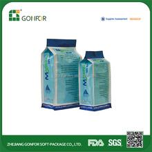 Customized printed liquid packaging plastic bag,plastic food packaging bag,zip lock plastic packaging bag