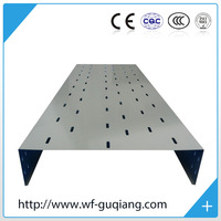 2mm thickness perforated cable tray in 100*50*2000mm size and FOB Qingdao Price