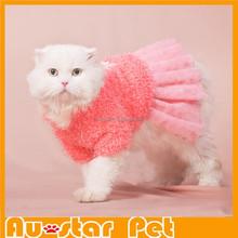 2015 Newest Pretty Pet Cat Clothes Brand Cat Dress Fashionable Pet Clothes for Party