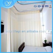 LY-3 Privacy Medical Isolation Curtain 100% Polyester Warp Knitting Fabric