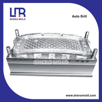 mould for plastic auto front grill