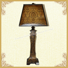 Victorian style table lamp metal art durable table lamp