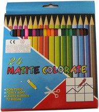 multi colored leaded pencil,students school natural wood colored pencils