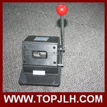 manual pvc card die cutter 58mm