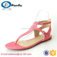 Sex ladies sandals 2015 T-strap women shoes wedding red sanals