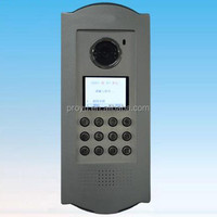 TCP/IP Networkd Video Door Phone System Building Intercom System PY-1011V1