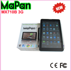 Cheapest 3g android dual sim mobile phone/7 inch MaPan wifi WCDMA 3g phone call tablet
