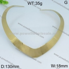 Envío bajo precio bajo loco india chapado en oro mujeres grandes gargantilla nuevo collar
