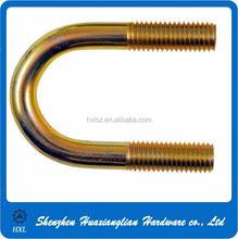 China hardware fastener custom drawing welcomed metal brass u bolt
