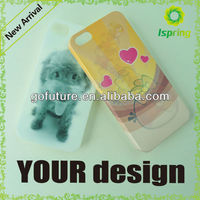 3D cartoon character cell phone case for mobile phone