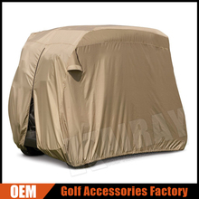 OEM high quality golf cart rain cover for 2-person golf carts