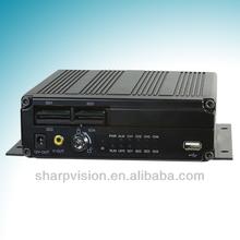 H.264 compression high video quality 4 channel car dvr