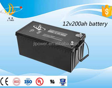 12v200ah Security system battery Rechargeable long life battery Maintenance Free Deep Cycle12V200Ah solar battery