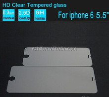 2.5D Tempered Glass For Iphone 6 Screen Protector 0.33mm Explosion Proof Film Guard For iphone 6 glass screen protector