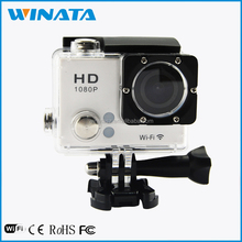 2.0 Inch LCD Screent Action Camera Waterproof WiFi Sport DV Action Bycicle Camera 1080P HD
