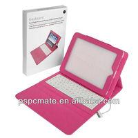 Classic Design For iPad mini Folio Leather Case Bluetooth Keyboard Flip Leather Case Bluetooth Keyboard For iPad mini