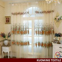 Cheap hot sale organza with line curtain fabric